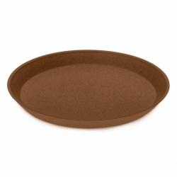 Тарелка connect organic d 20,5 см коричневая, Koziol