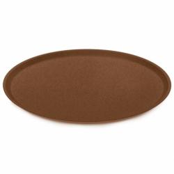 Тарелка connect organic d 25,5 см коричневая, Koziol