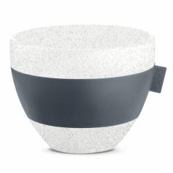 Чашка с термоэффектом aroma m organic 270 мл темно-серая, Koziol