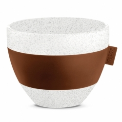 Чашка с термоэффектом aroma m organic 270 мл коричневая, Koziol