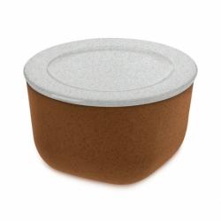 Контейнер для хранения продуктов connect m organic 1 л коричневый, Koziol