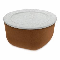 Контейнер для хранения продуктов connect l organic 2 л коричневый, Koziol