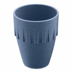 Кружка для капучино connect organic 300 мл синяя, Koziol