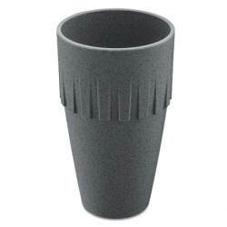 Кружка для латте connect organic 400 мл темно-серая, Koziol