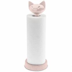 Держатель для бумажных полотенец miaou organic розовый, Koziol