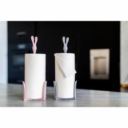 Держатель для бумажных полотенец roger organic розовый, Koziol