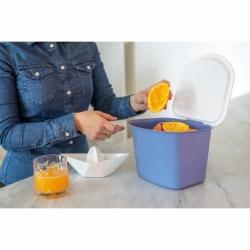 Контейнер для пищевых отходов bibo organic синий, Koziol