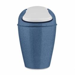 Корзина для мусора с крышкой del s organic 5 л синяя, Koziol