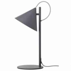 Лампа настольная Benjamin серая матовая, серый шнур, Frandsen