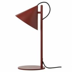 Лампа настольная benjamin, темно-красная матовая, черный шнур, Frandsen