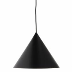 Лампа подвесная benjamin, черная матовая, черный шнур, Frandsen