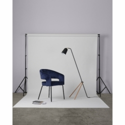 Кресло ariadna, вельвет, синее, Berg