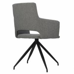 Кресло Camila серое