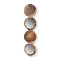 Зеркало Enkel мунгурское дерево, La Forma (ex Julia Grup)