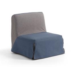 Кресло-кровать 80, ткань синяя, La Forma (ex Julia Grup)
