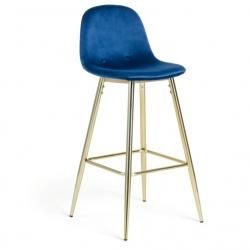 Барный стул Nilson темно-синий, La Forma (ex Julia Grup)
