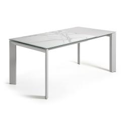 Обеденный серый стол Atta, La Forma (ex Julia Grup)