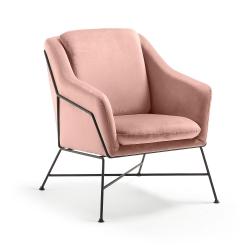 Кресло Brida бархат светло-розовый, La Forma (ex Julia Grup)