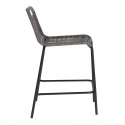 Полубарный стул Glenville 88 см серый, La Forma (ex Julia Grup)