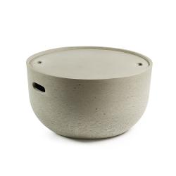 Cтолик цементный Rhette низкий, La Forma (ex Julia Grup)