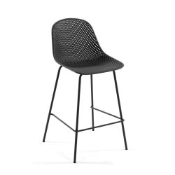 Барный стул Quinby серый, La Forma (ex Julia Grup)