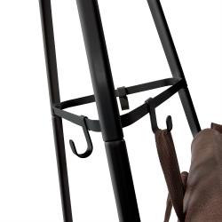 Вешалка Stearn металлическая черная, La Forma (ex Julia Grup)