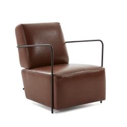 Кресло Gamer кожа коричневая, La Forma (ex Julia Grup)