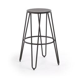 Барный стул Mallone графит, La Forma (ex Julia Grup)