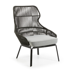 Кресло Rizz черное S499J03, La Forma (ex Julia Grup)