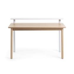 Письменный стол Jane 120x56 белый, La Forma (ex Julia Grup)