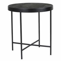 Столик кофейный Benigni черный, 42,5х46 см, Berg