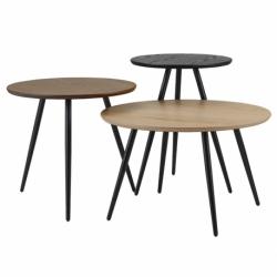 Набор кофейных столиков Sodano, 3 шт., Berg