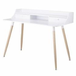 Стол офисный Pallotta, 120х60х92 см, белый