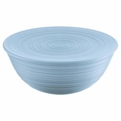 Миска с крышкой Tierra 30 см голубая, Guzzini