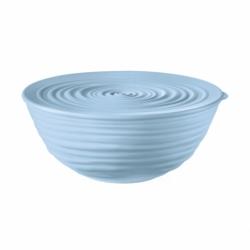 Миска с крышкой Tierra 18 см голубая, Guzzini