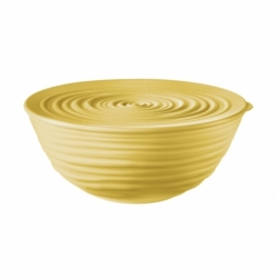 Миска с крышкой tierra 18 см желтая, Guzzini