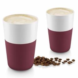 Чашки для латте Eva Solo 2 шт 360 мл гранатовый