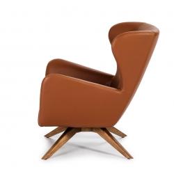 Поворотное кресло из иск.кожи SF-801E