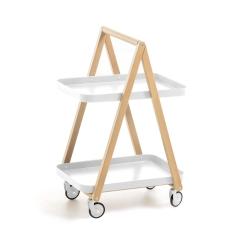 Сервировочный столик Sundial на колесиках