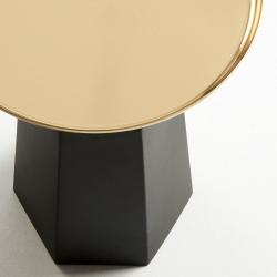 Столик приставной Plamp золото, La Forma