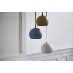 Лампа подвесная Ball светло-серая матовая