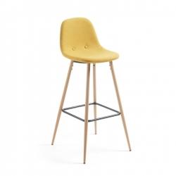 Полубарный стул Nilson желтый