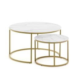 Набор приставных столиков Leonor, La Forma