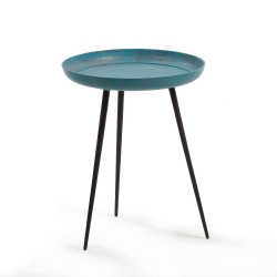 Круглый столик Sacke синий, La Forma