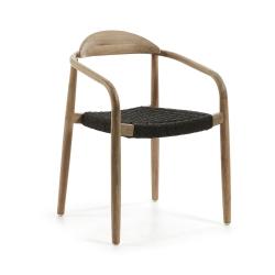Кресло Glynis натуральный темно-серый, La Forma