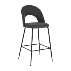 Барный стул Mahalia темно-серый