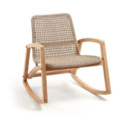 Кресло-качалка Taniska эвкалипт
