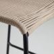 Полубарный стул Glenville 88 см бежевый