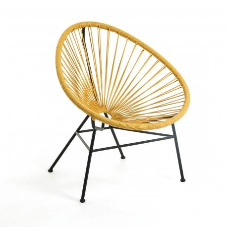 Кресло Samantha желтое