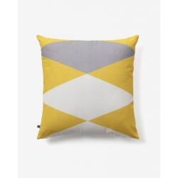 Чехол на подушку Fabiela 45x45 желтый серый